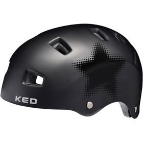 KED Risco casco per bici nero